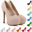 14cm vysoký podpätok módny štýl nepremokavé svadobné topánky