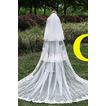 Dlhé šnúrky šírka dlhé čipky Čipka Látkové svadobné závoj