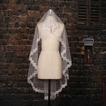 Pearl svadobné Veil pohľad poetický krátky rukáv pádu
