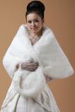Svadobné šatky Formálne zimné bez rukávov