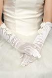 Svadobné rukavice Vonkajšia Taffeta Večná kravata