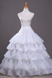 Sviatočné svadobné šaty s módnym flúčením Expand polyester tafta