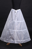 Svadobné Petticoat Polyester taft Jednoduché Tri ráfiky Kompletné šaty