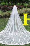 Svadobné Veil Jeseň kaplnka tkaniny Čipka čipka