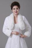 Svadobná šatka Zimná vzorovaná rukávová s dlhým rukávom Loose