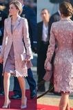 Dlhými rukávmi Formálne Banket Oblek Jeseň Dvojdielne Matné šaty