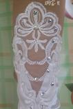 Svadobné rukavice Požadovaná čipka Fabric Translucent Autumn