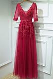 V krku Hruška Čipkou Overlay Klasický Služkinja obleko časti