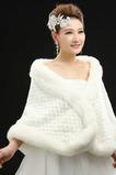Svadobné šál Elegantné zimné bez rukávov