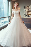 Skladaný Satén Prírodné pása Elegantné Zašnurovať topánky Svadobné šaty