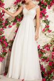 Vysoký pás Vonkajšie Čipka Elegantný Ríša pasu Svadobné šaty