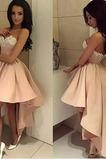 Asymetrické Vysoký nízky Asymetrické Satén Jeseň Koktejlové šaty