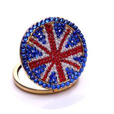 Prenosná veľkoobchodná národná vlajka Dvojkrídlová vykládaná diamantová ozdoba