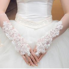 Svadobné rukavice kaplnka Poetické letné prístroje Tyl