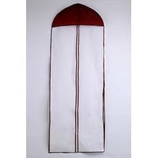 155 cm dlhá jednostranná transparentná hrana prachového obalu na prach