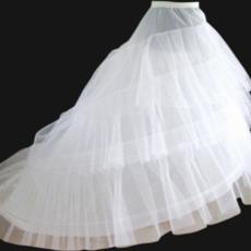 Svadobný klobúk Elastický pás Šírka Dva okraje Flouncing Svadobné šaty