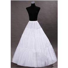 Sviatočné svadobné šaty Svadobné šaty Perimeter Frameless Standard Elastický pás