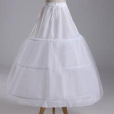 Svadobné šaty Tromi okrajmi Strong Net Celé šaty String Nastaviteľné