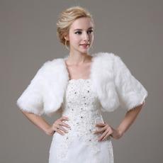 Svadobné šatka Glamour krátky rukáv Shore Sleeve Loose kože