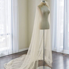 Svadobná šatka z peria svadobná dĺžka 2M
