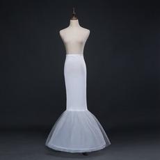 Svadobné kytice Bezrámová morská panna Spandex Pružný pás Celé šaty