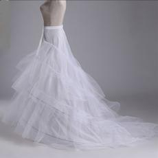Sviatočné svadobné šaty Tri okraje Perimeter Dvojitá priadza Mermaid Svadobné šaty