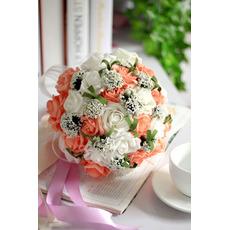 Rose po celom oblohe hviezdy kombinácia dekoratívne kvetina