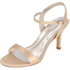 Svadobné sandále Prom vysoké podpätky ihlové módne topánky