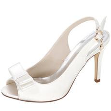 Letné saténové vysoké podpätky vznešené Elegantné banketové vysoké podpätky Svadobné plesové dámske topánky