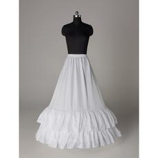 Svadobné šperky Elegantné svadobné šaty Elastický pás Polyester taft