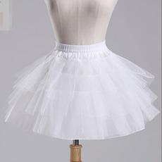 Svadobné Petticoat Ballet sukňa Krátke dvojité priadze Elastický pás