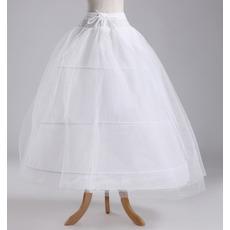 Svadobné šialenstvo Šírka Celé šaty Elegantné Tri rámy Polyester taft