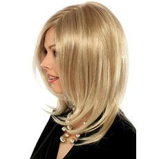 Perruque Pear Vhodné pre ženy s normálnym teplotným materiálom Long Curly