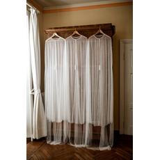 Tulle pearl bride shawl elegantná dlhá bunda 200CM