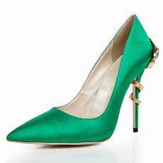 Módne sexi vysoké podpätky so špicatými prstami na svadobnej obuvi lacné topánky pre družičku