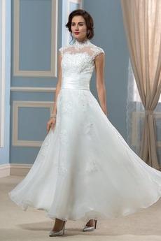 1c93e9b7ac7d Kúpiť obľúbené Vysoká krk Svadobné šaty z on-line obchodu - 1SATY.SK