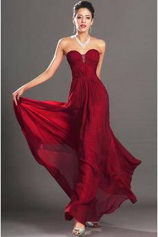Jablko Elegantné Ríša Polovice chrbta Vonkajšie Večerné šaty