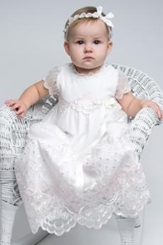 Princezná S diakritikou luk Formálne Dlhé Chýbať Otroške obleko