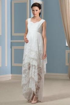 Nášivky Široké popruhy Elegantné Šifón Ríša pasu Svadobné šaty