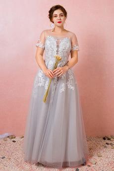 Čipka Večierok Elegantné Šperk Letné Prírodné pása Družičky šaty