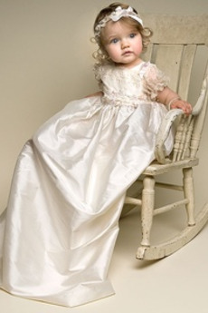 Vysoká zahrnuté Luk Klenot Formálne Girlanda Taft Otroka obleko