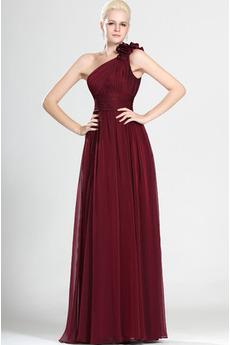 Chýbať Elegantné Skladaný Tyl prekrytie Bez rukávov Matné šaty
