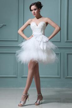 Bez ramienok Letné Bez rukávov Zips hore Princezná Stužková Šaty