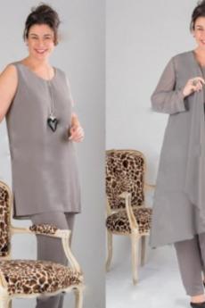 Dieťa Tričko Dvojdielne Členok dĺžka Dlhými rukávmi Matka šaty obleky