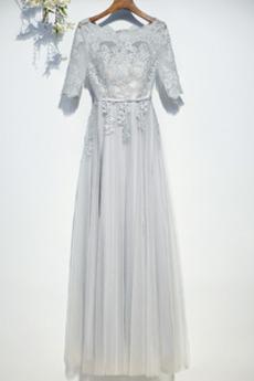 Zips hore Luxusným Presýpacie hodiny Širokým hrdlom Družičky šaty