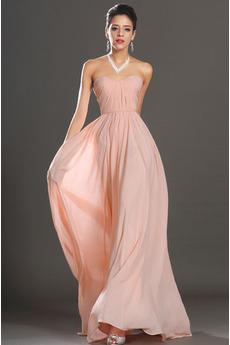 Prírodné pása Šifón S hlbokým výstrihom A-Riadok Večerné šaty