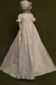 Formálne Princezná Čipka Prírodné pása Dlhé Klobúk Krištáľové šaty