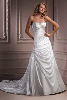 Formálne Jeseň Hruška Skladaný živôtik Prírodné pása Svadobné šaty