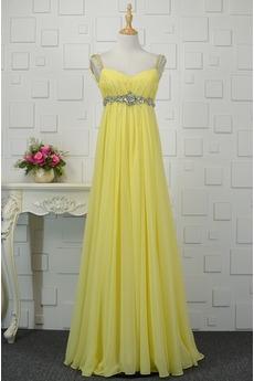 Nachový Zašnurovať topánky Elegantné Svadobné Skladaný živôtik Večerné šaty