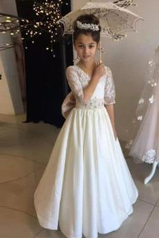 Formálne Prírodné pása Krátke rukávy Zavesený Kvetinové šaty